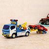 Mini Truck Series Police Tow Truck Vehicle Set