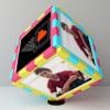 Mission Accomplished Personalized BIrthday Photo Cube