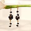 Modish Black stone Earrings