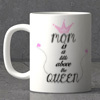 Mom a Title Above Queen Personalized Mug