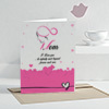 Mom I Love You Personalized Greeting Card