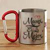 Mom Themed Personalized Steel Mug