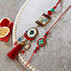 Mother of Pearls Rakhi Lumba Set