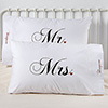 Mr And Mrs Personalized Pillowcase Set