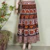 Multicolor Ethnic Long Skirt