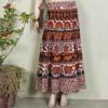 Multicolor Ethnic Long Skirt