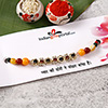 Multicolored Beaded Rakhi