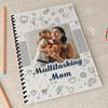 Multitasking Mom Personalized Photo Notebook