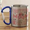 Mummy Themed Personalized Steel Mug
