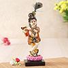 Murlidhar Krishna Resin Statue Idol
