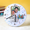 My Best Friend Personalized Wall Clock for Dad