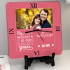 My Love will always be yours Personalized Anniversary Clock