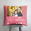 My Love will always be yours Personalized Anniversary Pillow