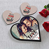 My Moments of Love Personalized Couple puzzle Hamper