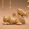 Nandi The Holy Cow Brass Idol
