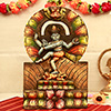 Nataraja Wooden Carved Painting