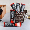 Nescafe Sachets & Coffee Mug With Truffles & Good Luck Plant