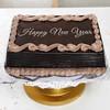 New Year 2kg Square Shape Chocolate Cake