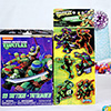 Ninja Turtles Tattoos with Magnets