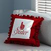 No.1 Sister Frill Cushion