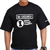 No Excuses I Make Things Happen T Shirts Black