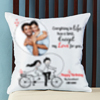 No Limit for Love Personalized Birthday Cushion