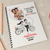 No Limit for Love Personalized Birthday Notebook