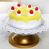 One Kg Pineapple Cake with Cherry Toppings