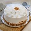 One Kg Round Shape Butterscotch Cake