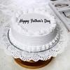 One Kg Round Shape Vanilla Cake