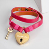 Open with Love Personalized Lock and key bracelet