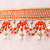 Orange Bead Work Bandhanwar