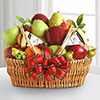 Organic Fruit Festival Basket