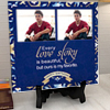 Our Love Story is Beautiful Personalized Birthday Tile