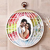 Oval Cage Personalized Photo Frame