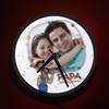 Papa I Love You Personalized LED Clock