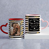 Personalized Anniversary Mug Set for Parents