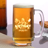 Personalized Birthday Beer Mug
