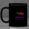 Personalized Black Ceramic Mug