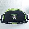 Personalized Black & Green Gym Bag