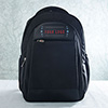 Personalized Black Laptop Backpack