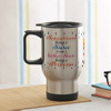 Personalized Car Steel Mug for Sister
