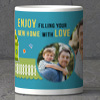 Personalized Cushion & Mug to fill your home with love