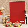 Personalized Diary & Pen Combo with Diwali Hamper