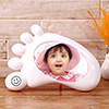 Personalized Foot Print Shaped Photo Frame cum Money Bank