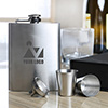 Personalized Hip Flask with Shot Glasses