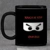 Personalized Ninja Black Mug
