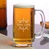 Personalized Ocean Beer Mug