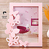 Pink Butterfly Personalized Photo Frame