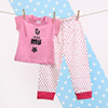Pink My Star T-Shirt & Bottom Set for Girls